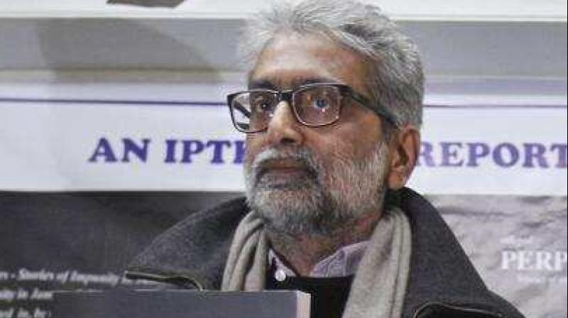 Gautam Navlakha (AP)