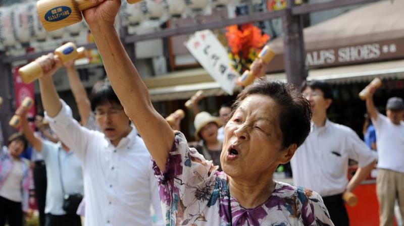 People may feel old if they lose grey matter and this makes everyday tasks more difficult (Photo: AFP)