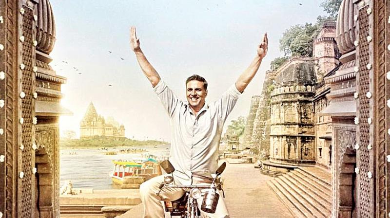 Akshay Kumar in the poster of 'Padman'.