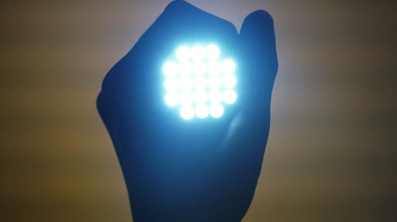 Light-emitting diodes or LEDs are semiconductor devices that emit light when an electric current is passed through it.