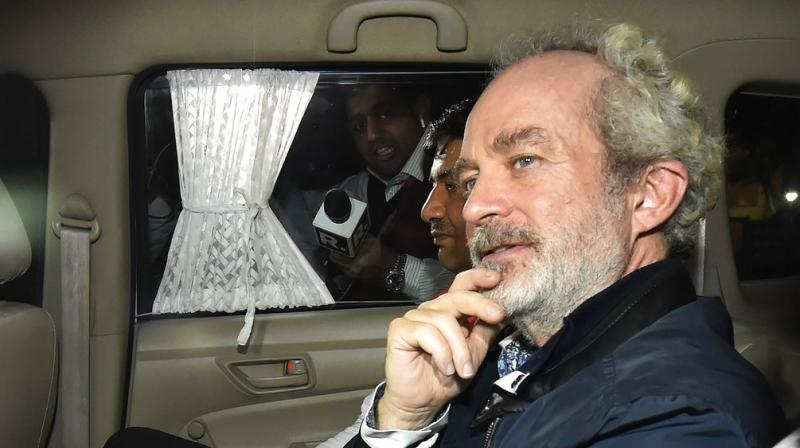 Central Bureau of Investigation on Tuesday filed an application in a special court here seeking permission to interrogate Christian Michel, an alleged middleman in the Rs 3,600 crore AgustaWestland VVIP chopper deal, inside Tihar Jail. (Photo: File)