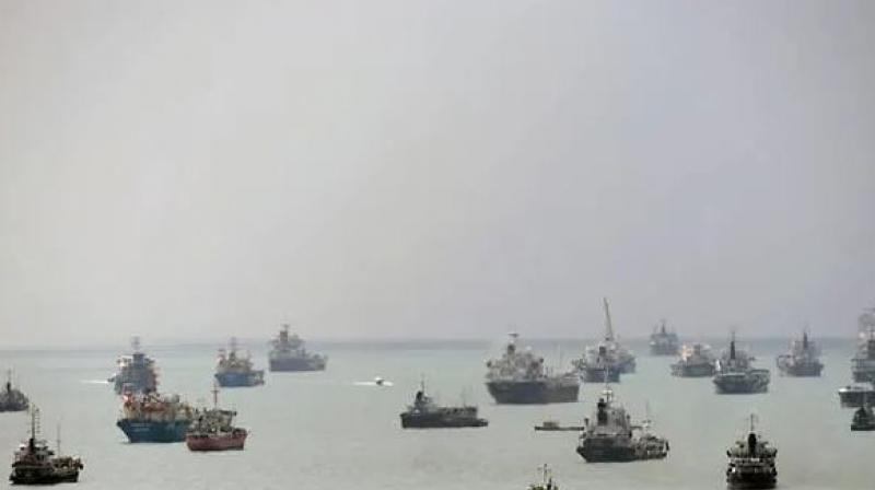 The sailors suffered minor injuries due to their confrontation with the pirates. (Photo: AFP)