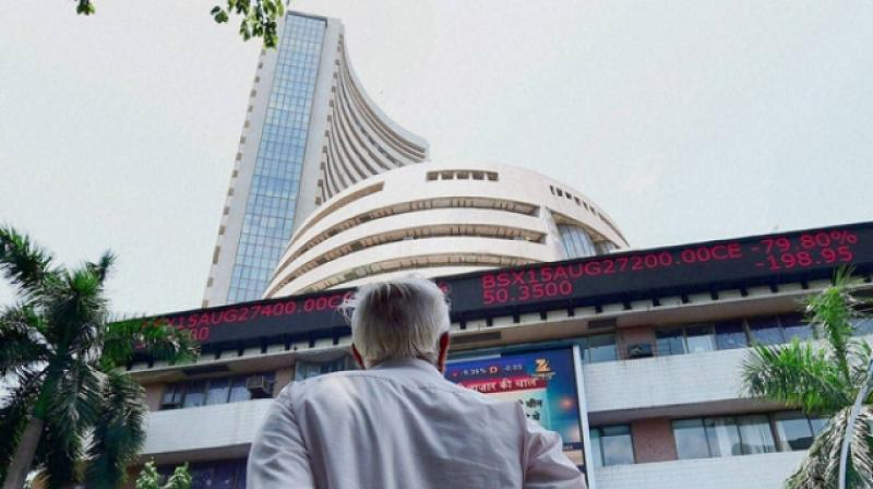 The 30-share BSE index was trading 54.44 points or 0.10 per cent higher at 52,382.95 in initial deals. (Photo: PTI/File)