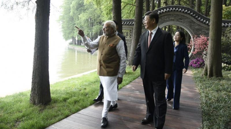 Modi met Xi last week in an unprecedented two-day 'heart-to-heart' summit in the central Chinese city of Wuhan to 'solidify' the India-China relationship after the Doklam standoff in 2017. (Photo: Twitter   @PMOIndia)