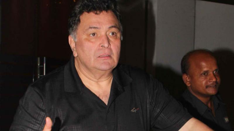 Rishi Kapoor.