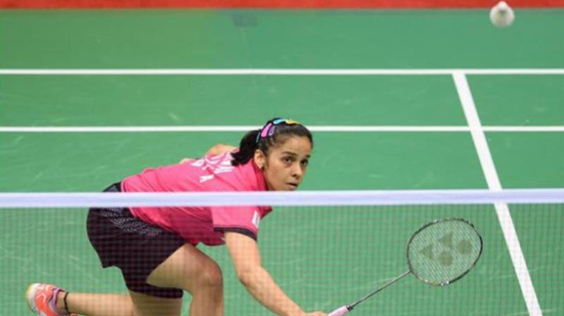 Saina lost to Hong Kong's Cheung Ngan-yi 8-21, 21-18, 19-21 in the quarter-finals. (Photo: AFP)