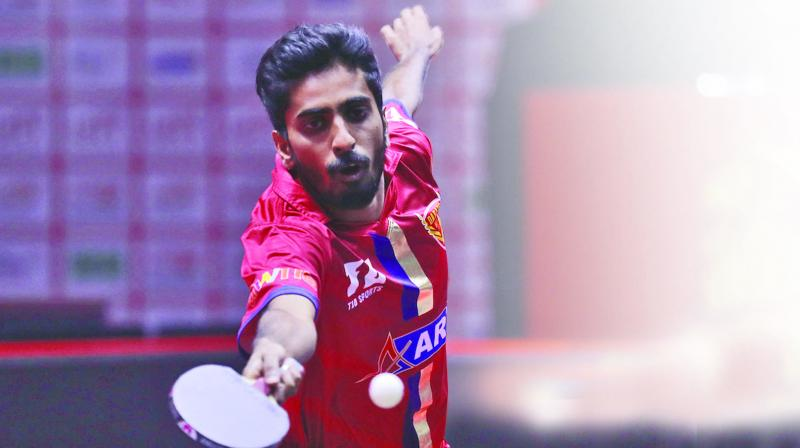 Country's upcoming talented paddler Sathiyan Gnanasekaran