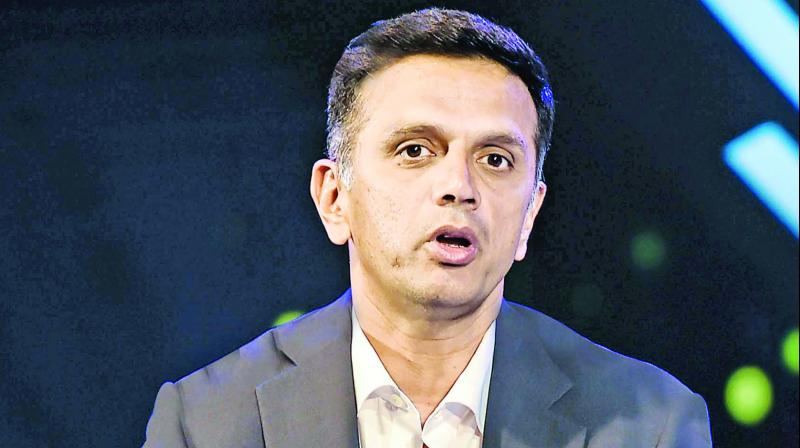 Dravid played 164 Tests and 344 ODIs for India from 1996 to 2012 and scored a total of 24,177 runs across the two formats. (Photo: File)