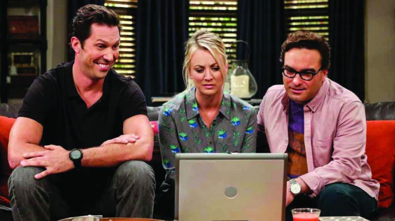 A still from Big Bang Theory used for representational purposes only