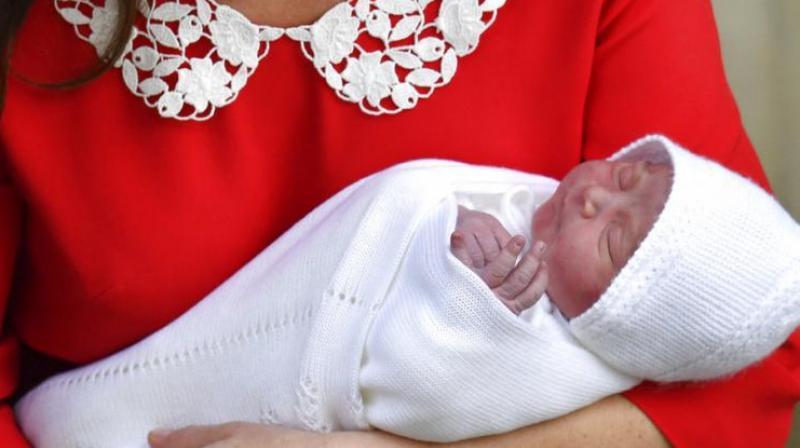Prince Louis Arthur Charles. (Photo: AP)