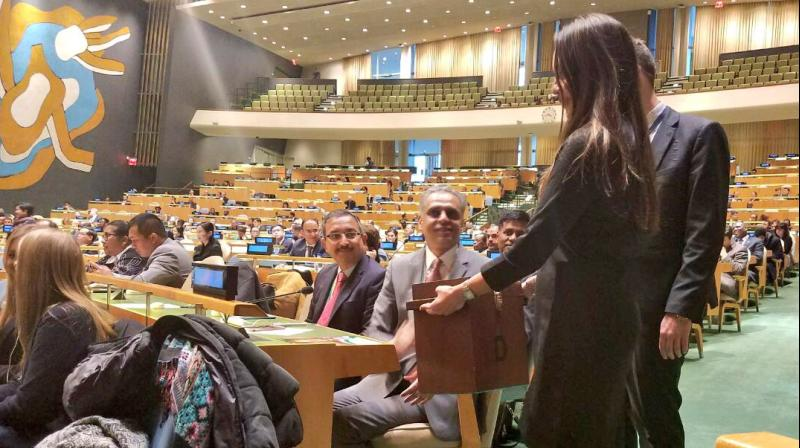 After the results came out, PMModi expressed gratitude to members of the UN General Assembly and the UN Security Council for 'their support and trust in India. (Photo: Twitter)