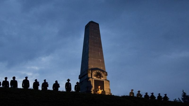 The annual holiday commemorates the April 25, 1915, Gallipoli landings in Turkey, the first major military action fought by the Australian and New Zealand Army Corps during World War I. (Photo: AP)