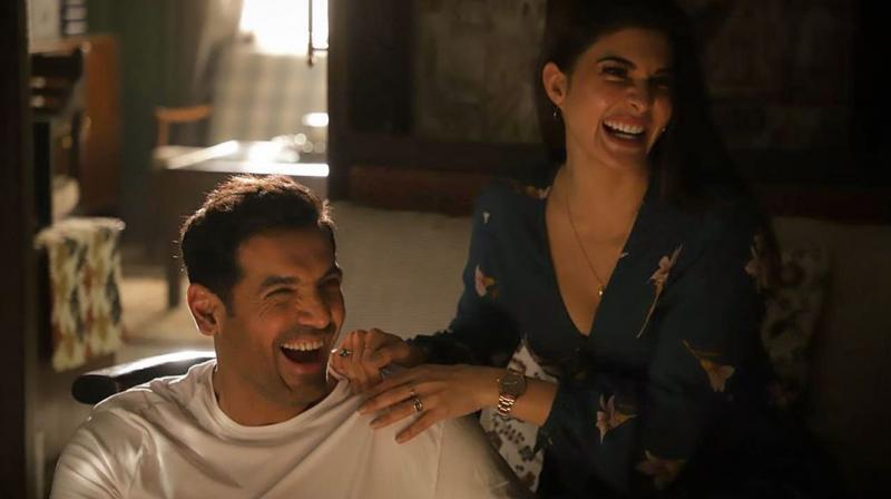 John Abraham and Jacqueline Fernandez. (Photo: Instagram)