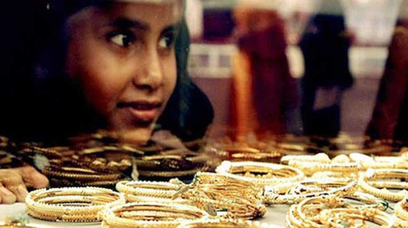 Gold prices are ruling at Rs 32,690 per 10 grams in the national capital as against Rs 30,710 per 10 grams on the Dhanteras day in 2017.