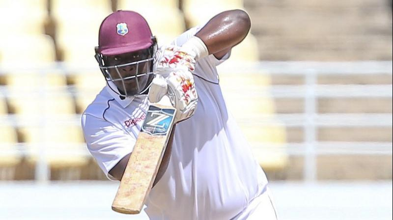 Former Windies cricketers Ramnaresh Sarwan and Brian Lara have been helping the team to prepare for the two Test matches against India. Cornwall said receiving inputs from the duo proved as a learning curve for him. (Photo: Twitter)