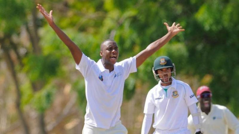 He had a memorable second match in Saint Lucia as he had recorded the figures of 9-102 in the match, including career-best 6-48 in the second innings. (Photo: West Indies Cricket)