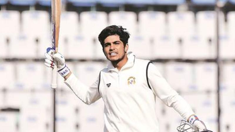 Just two weeks shy of his 20th birthday, Gill is making waves despite having played just two ODIs with former captain Sourav Ganguly among those left surprised by his omission from the senior team's ongoing tour of the West Indies. (Photo: Twitter)