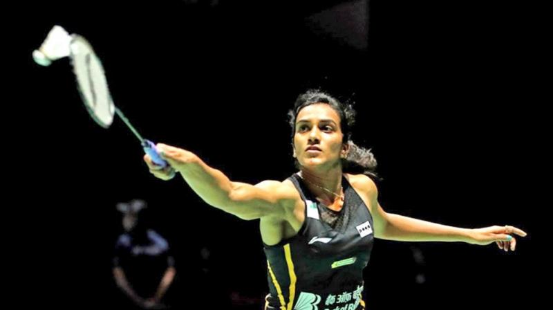Olympic silver medallist Sindhu beat Japan's Nozomi Okuhara 21-7 21-7 in a one-sided summit clash in Basel, Switzerland. (Photo: Twitter)