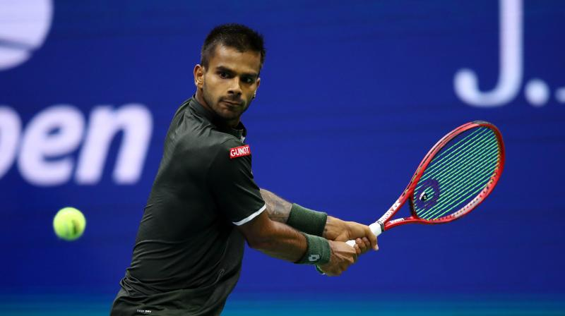 Indian tennis player Sumit Nagal on Friday said he was aiming to break into the top 100 of the ATP rankings and then look at being in the 80s in the quest for an Olympics spot. (Photo: AFP)