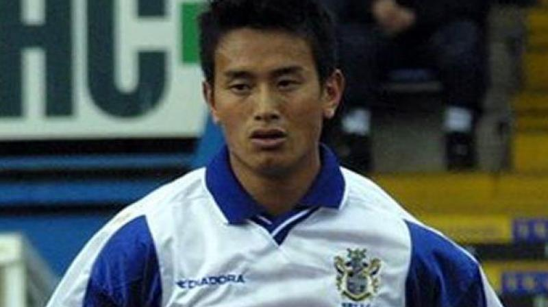 Bhaichung Bhutia was a part of Bury FC after signing a three-year contract with them in 1999. (Photo: Twitter/ Bury FC)