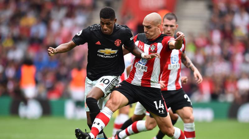 Manchester United and Southampton FC played out a 1-1 draw on Saturday in the ongoing Premier League at St Mary's Stadium. (Photo: AFP)