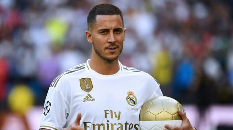 Hazard was expected to make his debut in Vigo in the opening round in mid-August after joining Madrid for an initial 100 million euros from Chelsea in June. (Photo: AFP)