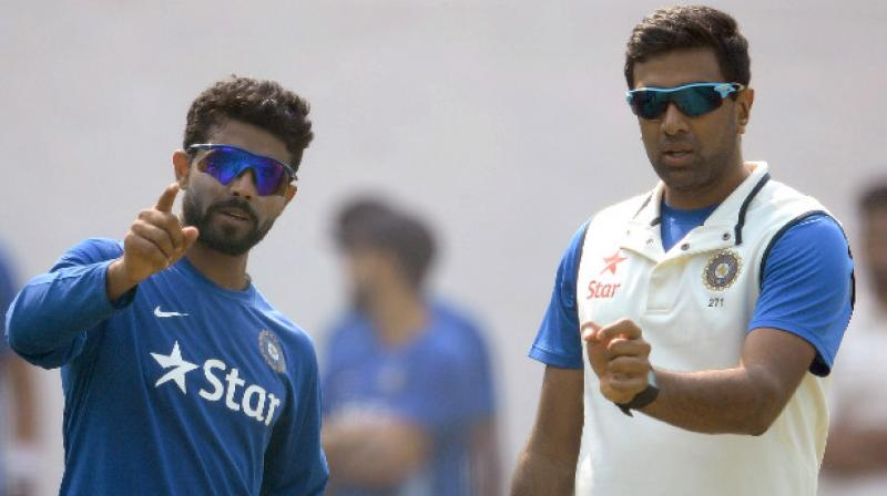 On his selection in the first Test, Shastri said that Jadeja's ability to bowl on a damp wicket in the first session of a Test match was factored in. (Photo: AFP)