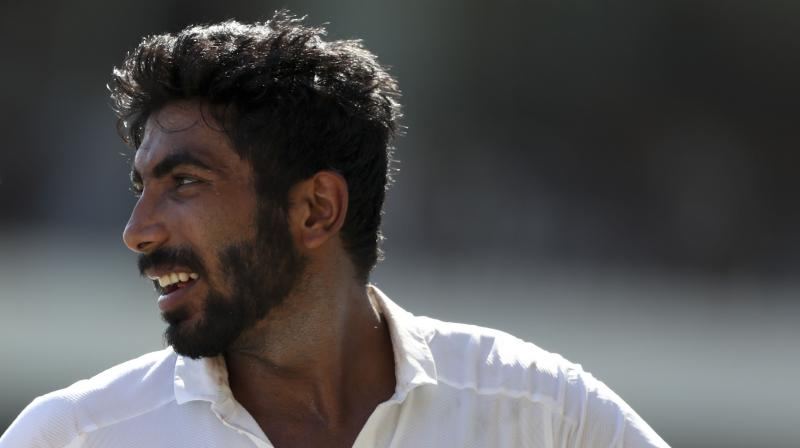 Indian spearhead Jasprit Bumrah. (Photo: AP)