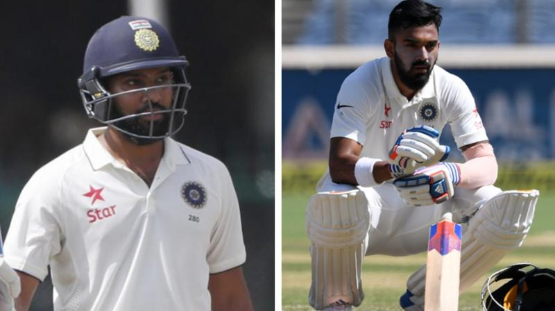 Several posts comparing Rohit Sharma and KL Rahul started to appear on social media. (Photo: AFP)