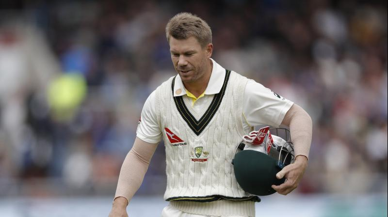The 32-year-old David Warner, who registered a cumulative total of just 95, was dismissed seven times by Broad during the drawn contest and encountered jeers from home crowds following his role in the 2018 ball-tampering scandal. (Photo: Twitter)