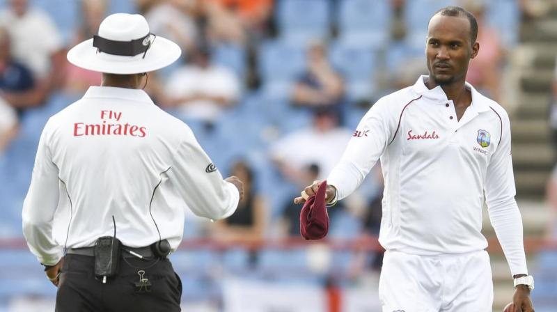 With Kraigg Brathwaite being reported again, he will be required to submit to further testing by September 14. (Photo: AFP)