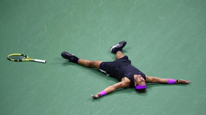 'That's so important,' Nadal said of his fourth US Open crown. 'This victory means a lot.' (Photo: AFP)