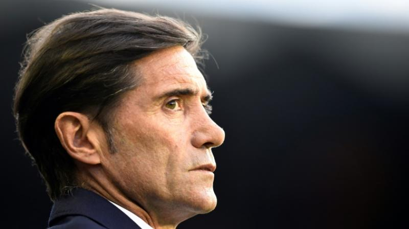 Valencia CF on Wednesday dismissed their coach Marcelino Garcia Toral. (Photo: AFP)