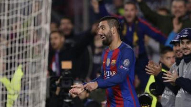 Arda Turan later arrived at the hospital with a gun which he fired at the ground, causing panic. (Photo: AP)