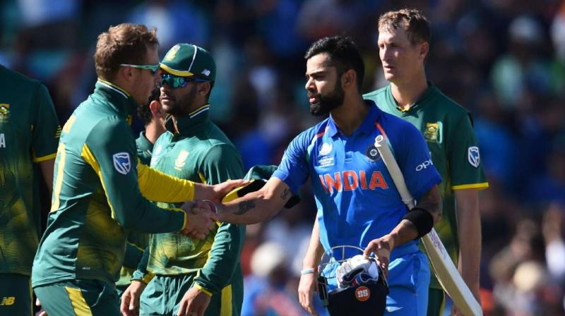 India will face South Africa on Sundat at Dharamsala in the first match of the three-match T20I series. (Photo: AFP)