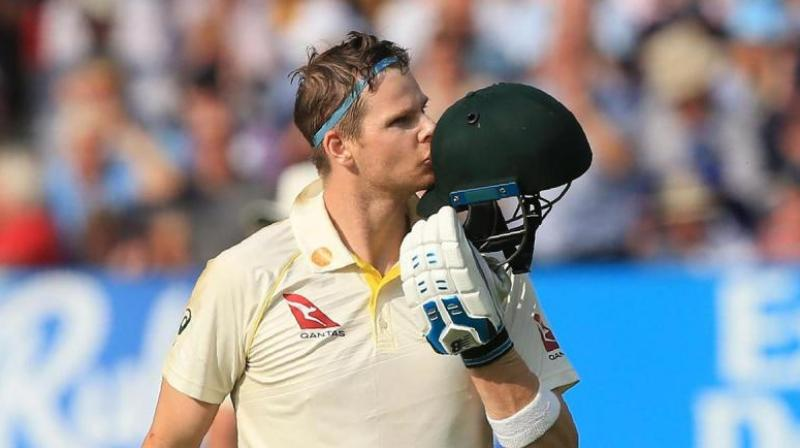 Before his dismissal took place in the second innings of the last Test, Steve Smith's lowest score in the score was a mind-boggling 80 runs. (Photo: