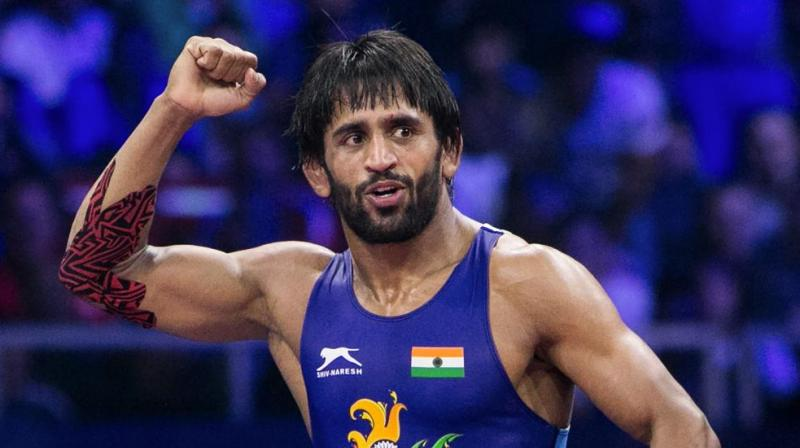 The wrestler was trailing 2-6 in the match, but he was able to come back from behind to register a win in the match. (Photo: PTI)
