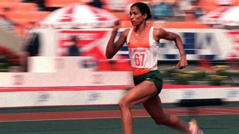 PT Usha was one of three persons from Asia to receive the honour. (Photo: AFP)
