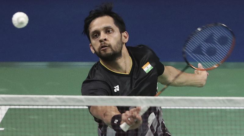 Indian shuttler Parupalli Kashyap crashed out of the China Open badminton after suffering a straight-game defeat against Denmark's Victor Axelsen here on Thursday.(Photo: AP)