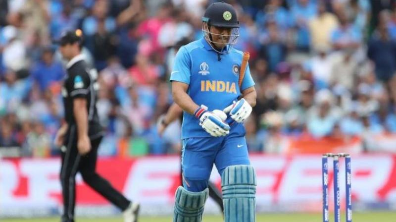 MS Dhoni stitched a 116-run stand with Ravindra Jadeja to get India close after they were tottering at 92 for 6 at one stage. But Dhoni's dismissal, run out on 50, crushed India's hopes of reaching the final. (Photo: AP)