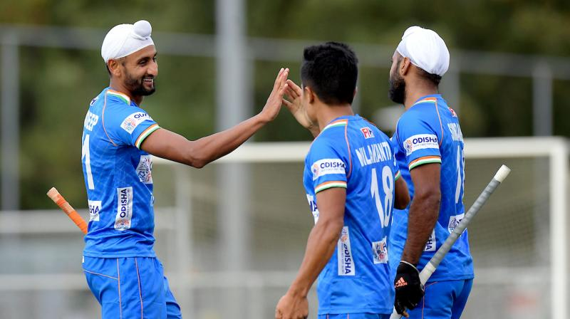 Captain Mandeep Singh broke the deadlock and scored a goal in the 24th minute of the second quarter. (Photo: PTI)