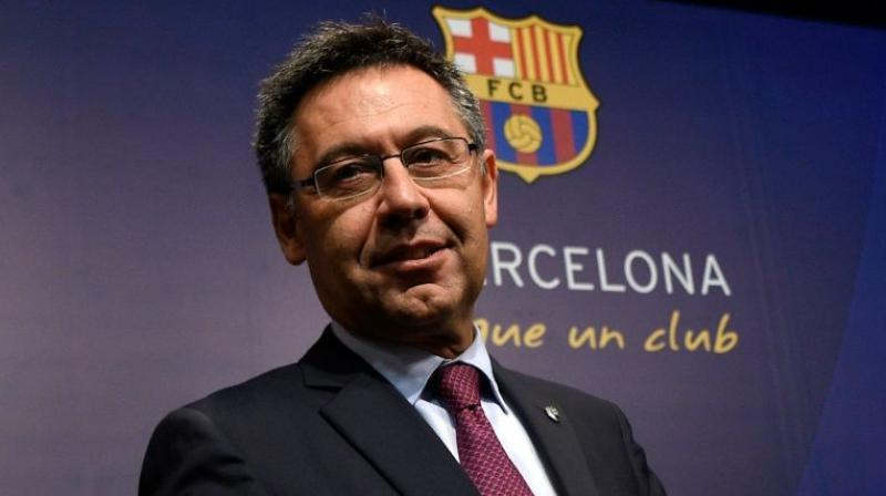 Josep Maria Bartomeu's presidency will end in 2021, also confirmed renovation work on Camp Nou will not be complete until 2024, three years later than initially planned. (Photo: AFP)