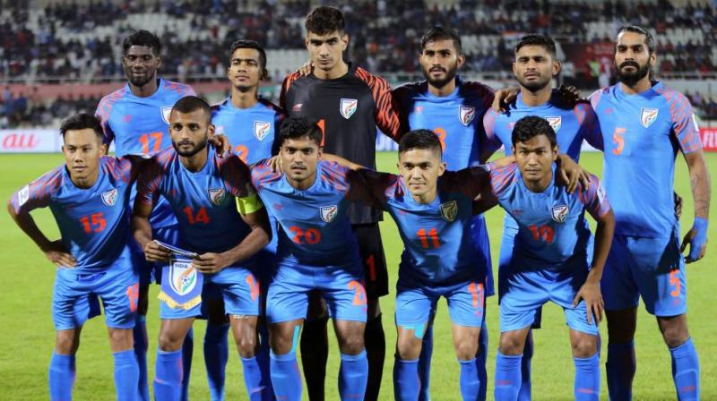 India in their road to qualifying for the FIFA World Cup 2022 are playing a qualifying tournament in which they did not win any game so far. (Photo: AFP)