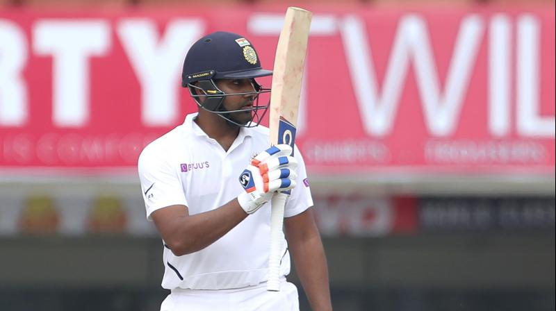 Opening the batting irrespective of the format, requires a certain amount of patience and discipline, something Rohit Sharma inculcated when he started opening in white-ball cricket. (Photo: AP)