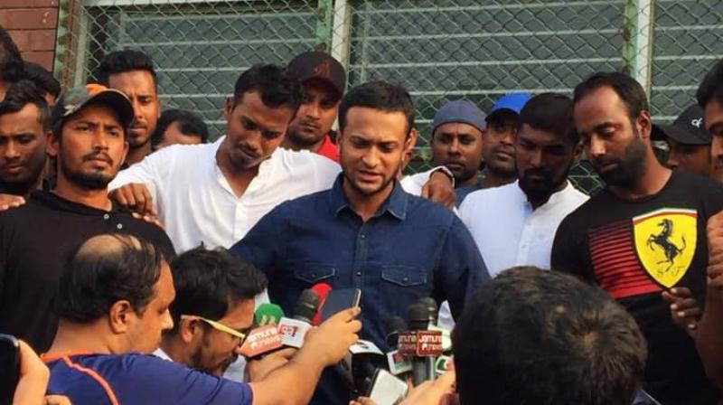 Shakib al Hasan along with senior cricketers Mushfiqur Rahim and Mahmudullah Riyadh led the players protests 11-point demand, ranging from an increase in domestic match fees, daily allowances, players' transfers in both national league and BPL.