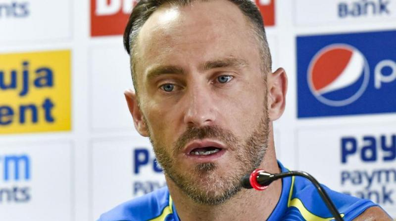 Faf du Plessis rued a lack of vision that impeded phasing out of their great players. (Photo: PTI)