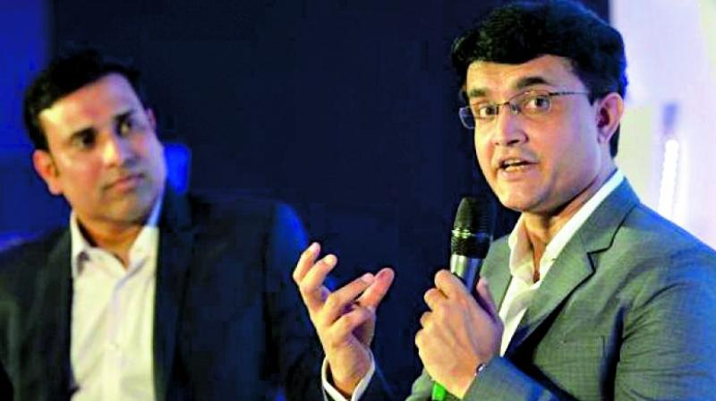 VVS Laxman said Sourav Ganguly has always performed better under pressures and hopes he will deliver as an administrator. (Photo: AFP)
