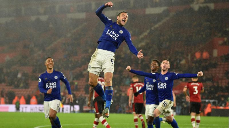 Leicester City's rout of Southampton equalled Manchester United's 9-0 demolition of Ipswich at Old Trafford in March 1995. (Photo: AP)
