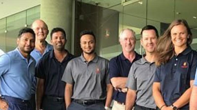 Shakib AL Hasan joined the MCC World Cricket committee in October 2017 and attended meetings in both Sydney and Bengaluru. (Photo: Twitter)