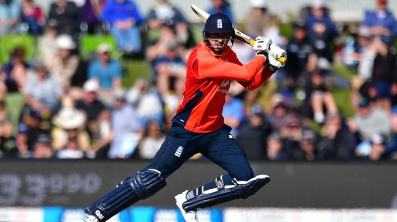 James Vince's knock of 59 runs enabled England to register a victory by seven wickets and nine balls to spare. (Photo: AFP)